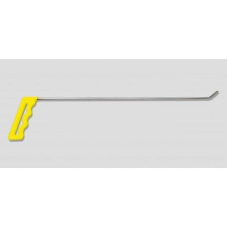 "16"" Lt flat brace 45 degrees 1-1/8"" blade"