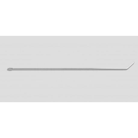 "36"" Bendable twist 45 degrees 3/8"" diameter, 3"" blade"
