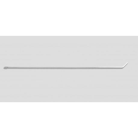 "48"" Bendable twist 45 degrees 3/8"" diameter, 3"" blade"