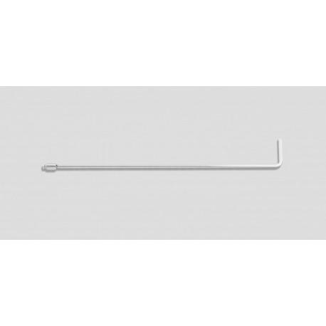 "24"" Standard twist 90 degrees 5/16"" diameter, 3"" blade"