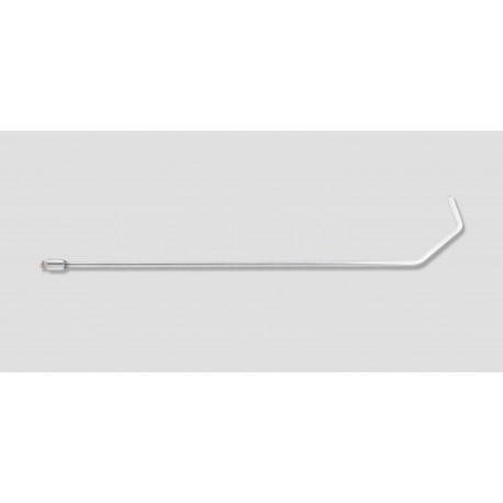 "22"" Double bend hook 115 degreeers 5/16"" diameter, 3"" x 2"""