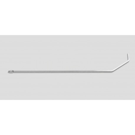 """36"""" Hooked double bend 90 degrees7/16"""" diameter, 3"""" x 2-3/8"""" blade"""