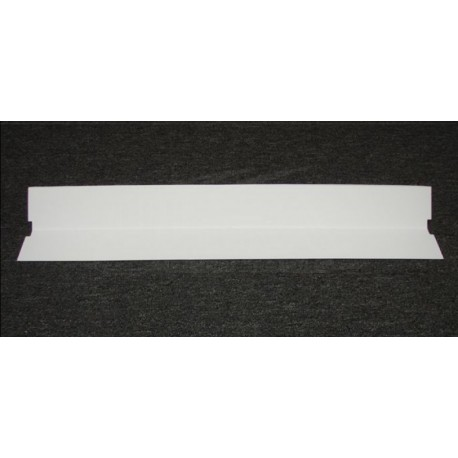 """36"""" White plastic 'v' reflector shield -fits all A1B's (behind bulb)"""