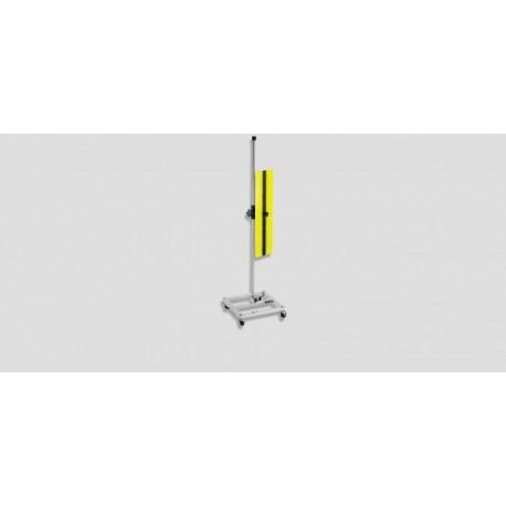 "Roll around reflection board (board 24"" X 7"") Yellow & White w/black fade"