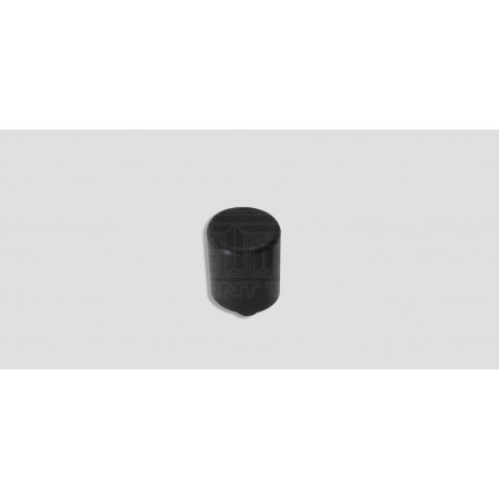 "7/16"" Hammer tip, black acetal - Large Square"