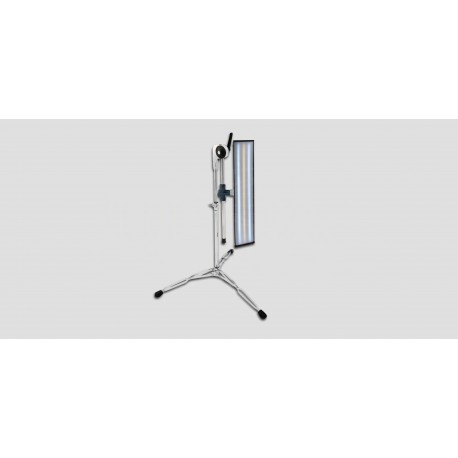 """24"""" 'ULTRA VISION' 12V LED (3 strip)  light on drum/cymbal stand w/A1BC collar"""
