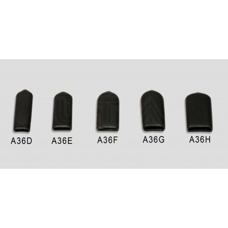"X-small hard plastic cap for 3/16"" & 1/4"" bladed tools - 5 Pack"