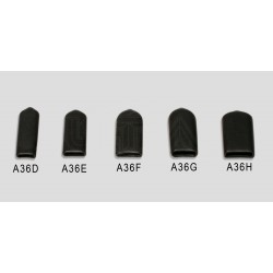 "Medium hard plastic cap for 3/8"" bladed tools - 5 Pack"