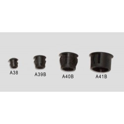 "1/4"" LOCKING plug - hard plastic"