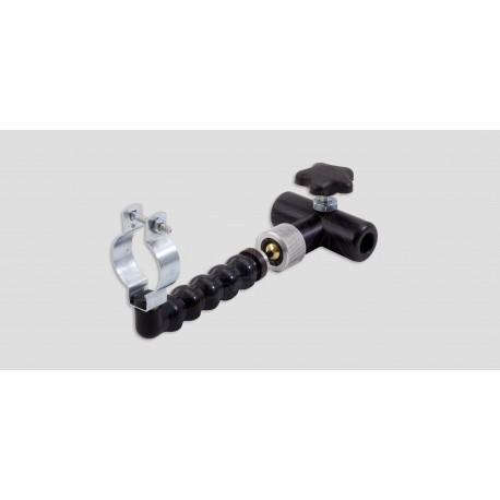 Heatgun mounting kit - Lockline w/ball stud and A1BC collar