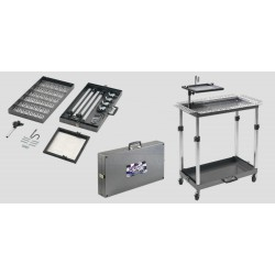 Ultra Case Cart includes A34GTB Glue tray & AA61B glue tray bracket - 23 lbs.