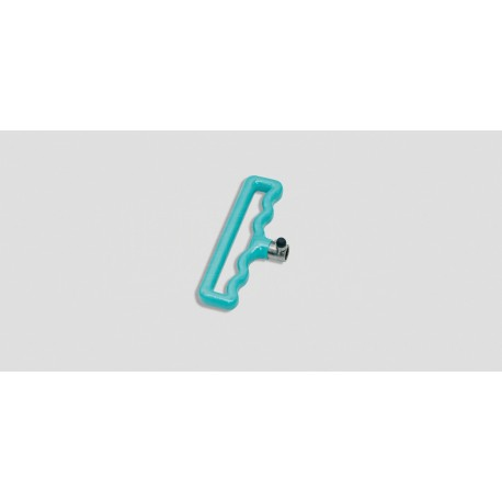 Small Teal Adjustable T- Handle, 5-3/8""