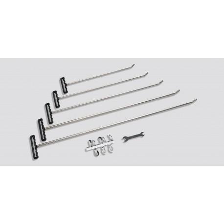 Roller rod & tip set